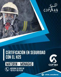 CERTIFICACIÓN EN SEGURIDAD CON EL SULFURO DE HIDROGENO H2S