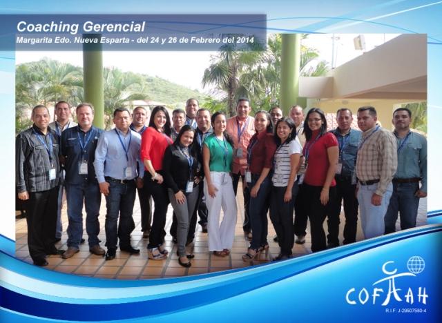 Coaching Gerencial (PDVSA) Isla de Margarita