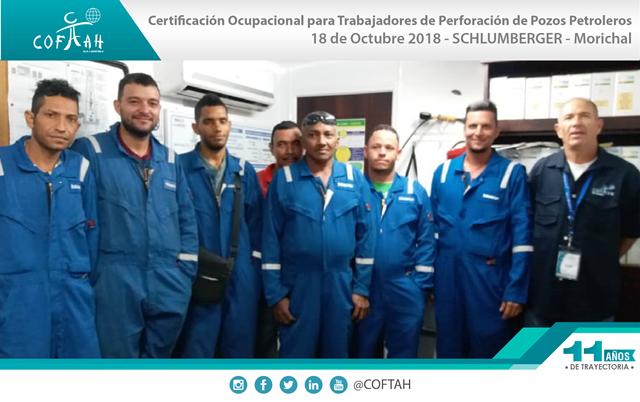 Certificación de Operadores de Montacargas (PRECISION DRILLING) Anaco