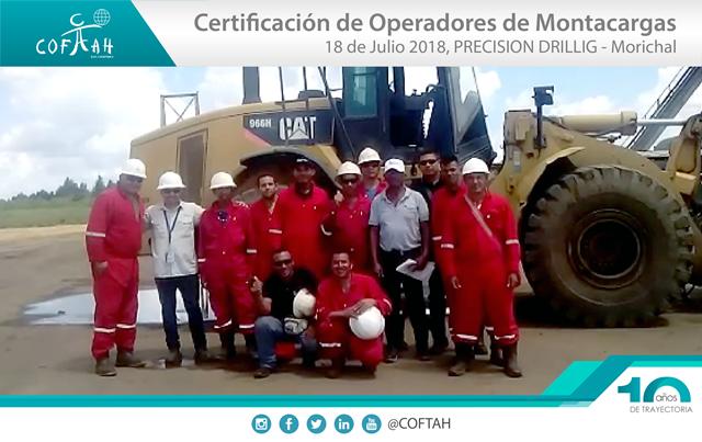 Certificación de Operadores de Montacargas (PRECISION Drilling) Morichal