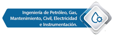 Ingenieria de Petroleo, Gas, Mantenimiento, Civil, Electricidad e Instrumentacion