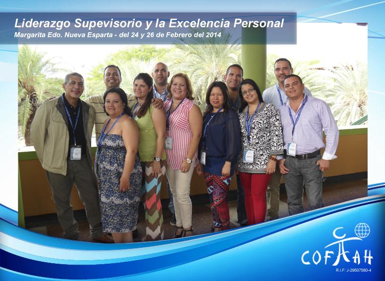 Liderazgo Supervisorio y La Excelencia Personal (PDVSA) Isla de Margarita