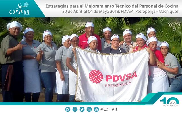 Estrategias para el Mejoramiento Técnico del Personal de Cocina (PDVSA Petroperija) Machiques