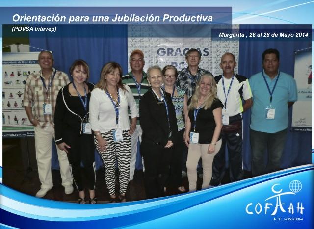 Orientación para una Jubilación Productiva (PDVSA Intevep) Isla de Margarita