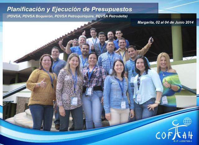 Planificación y Ejecución de Presupuestos (PDVSA Varios) Isla de Margarita