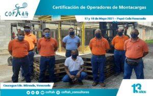 Certificación de Operadores de Montacargas (PEPSICOLA)