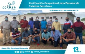 Certificación Ocupaciona para Personal de Taladros Petroleros