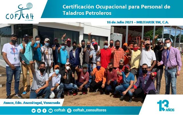 Certificacion Ocupacional para Personal de Taladros Petroleros