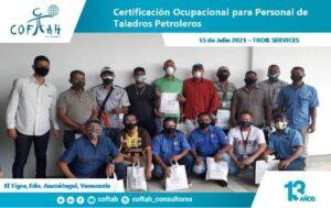 Certificación Ocupaciona para Personal de Taladros Petroleros TROIL SERVICES