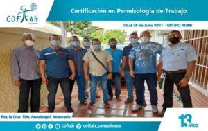 Certificación en Permisologia de Trabajo