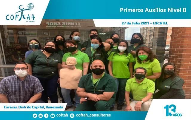 Primeros Auxilios (LOCATEL) Caracas