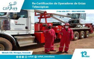Re-Certificación de Operadores de Grúas Telescópicas