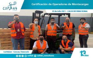 FotogCertificación de Operadores de Montacargas