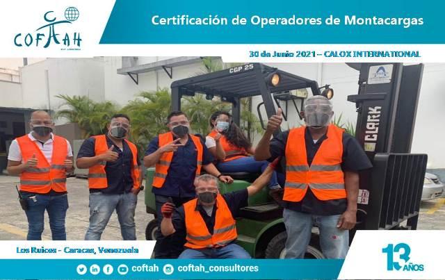 Certificación de Operadores de Montacargas