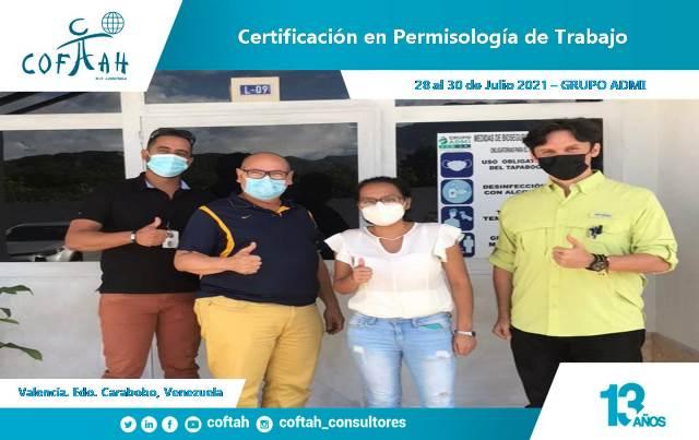 Certificación en Permisología de Trabajo GRUPO ADMI en Valencia