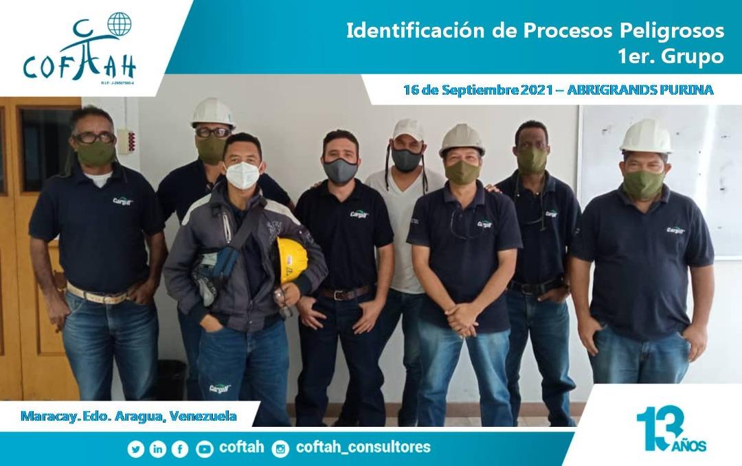 Identificación de Procesos Peligrosos en ABRIGRANDS PURINA 1er Grupo