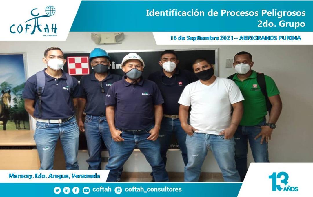 Identificación de Procesos Peligrosos en ABRIGRANDS PURINA 2do Grupo
